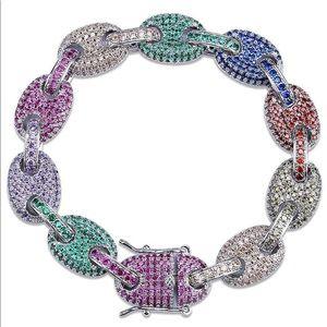 Rainbow CZ Bracelet